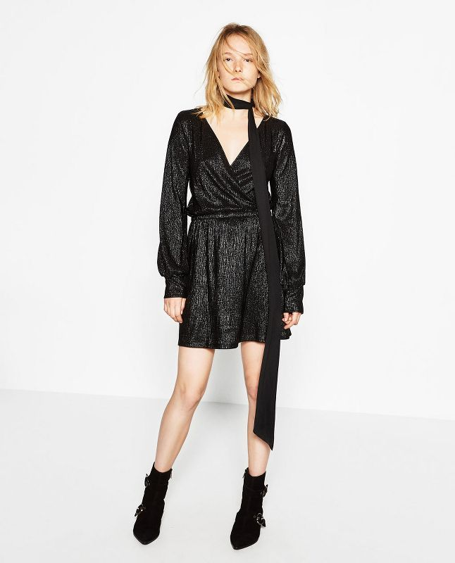 mini dress Zara 2017