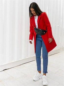 MORGAN RED COAT
