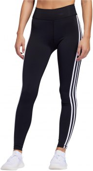 Adidas Performance PULSE 3 STRIPES LONG TIGHTS FJ6100 Μαύρο