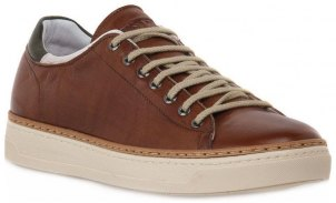 Xαμηλά Sneakers Exton CUOIO ENNA Brown