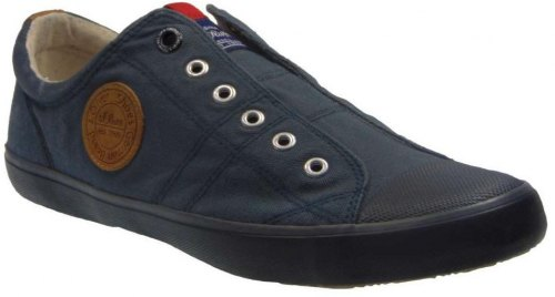 S Oliver 5 14604 20 704 Casual Slip On Απο Ύφασμα Πετρόλ