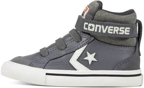 ΜΠΟΤΑΚΙ CONVERSE ALL STAR PRO BLAZE STRAP STRETCH HI 758168C ΓΚΡΙ (EU 20) ff0404120c2