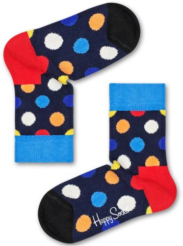 ΚΑΛΤΣΕΣ HAPPY SOCKS KIDS BIG DOT LOW SOCK KBDO05 6500 ΠΟΛΥΧΡΩΜΟ 1TMX (EU 28 31)