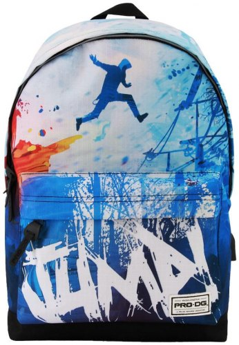 ΣΑΚΙΔΙΟ ΠΛΑΤΗΣ ΓΥΜΝΑΣΙΟΥ KARACTERMANIA PRODG FREESTYLE BACKPACK JUMP 42X30X20CM