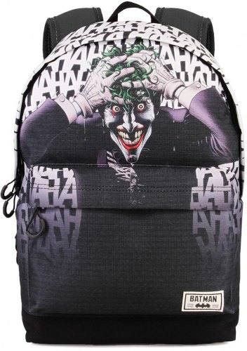 ΣΑΚΙΔΙΟ ΠΛΑΤΗΣ ΓΥΜΝΑΣΙΟΥ KARACTERMANIA BATMAN MULTICOLORED HS BACKPACK KILLIN JOKE 44X30X20CM