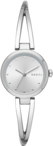 DKNY Crosswalk NY2789, Silver case with Stainless Steel Bracelet