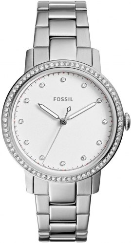 FOSSIL Neely Crystals ES4287, Silver case with Stainless Steel Bracelet