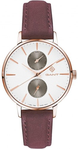 GANT Park Avenue Ladies G128005, Rose Gold case with Brown Leather Strap