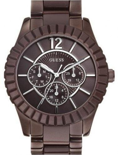 GUESS Facet W0028L2 Brown case, with Stainless Steel Bracelet