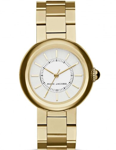 MARC JACOBS Courtney MJ3465, Gold case with Stainless Steel Bracelet