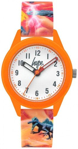 HYPE Kids HYK011O Orange case with Multicolor Rubber Strap