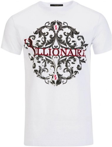 T shirt με κοντά μανίκια Billionaire MTK1709 COMO LAKE