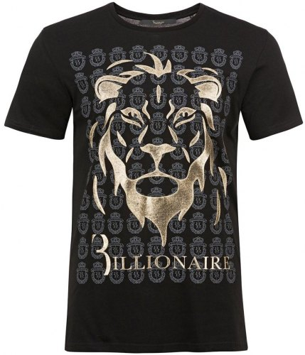 T shirt με κοντά μανίκια Billionaire MTK1982 CHAMBERLIN Black