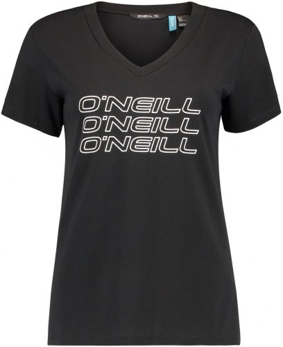T shirt με κοντά μανίκια O'neill Triple Stack [COMPOSITION COMPLETE] Black
