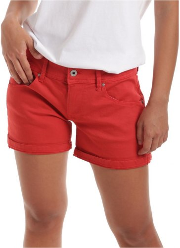 Shorts Βερμούδες Pepe jeans PL800685YC8 [COMPOSITION COMPLETE] Red