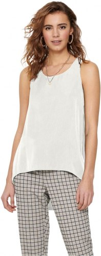 ONLY SLEEVELESS TOP ΓΥΝΑΙΚΕΙΟ ΛΕΥΚΟ