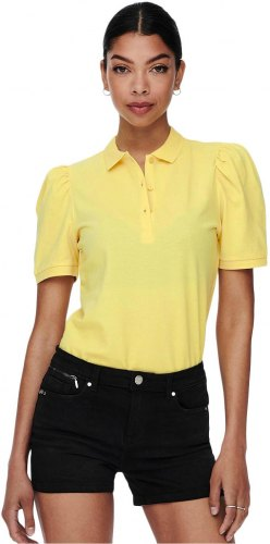 ONLY JANET LIFE POLO T SHIRT ΓΥΝΑΙΚΕΙΟ ΚΙΤΡΙΝΟ