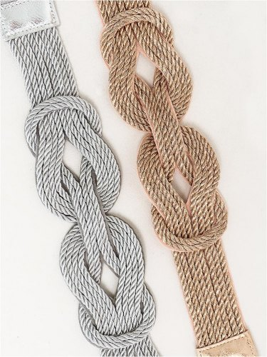 KNOT BRAID BELT (2 COLORS)