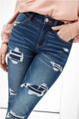 AE Ne(x)t Level Temp Tech High Waisted Jegging 0433 3109 977 Μπλε Σκούρο