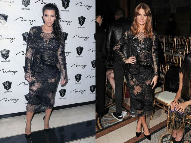 Kim Kardashian vs Millie Mackintosh